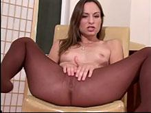 Brunnete slut gets fucked hard