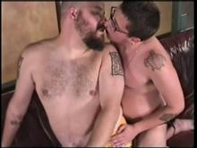 Couch Surfers 2 - Trans Men In Action Clip 6 01:36:20