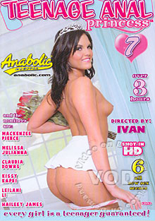 Teenage Anal Princess 7 Box Cover