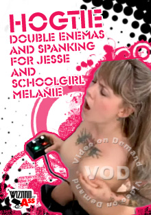 Hogtie Double Enemas And Spanking For Jesse And Schoolgirl Melanie Box Cover