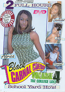 Black Carnal Coeds Volume 4 - The College Layz Box Cover