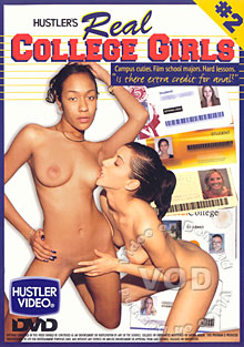 Hustler's Real College Girls #2 Box Cover