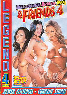 Belladonna, Briana, Tera & Friends 4 Box Cover