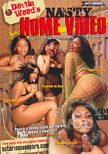 Devlin Weed's Nasty Home Video Box Cover
