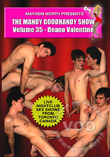 The Mandy Goodhandy Show #35: Deano Valentine Box Cover