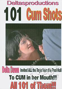 101 Cum Shots Box Cover