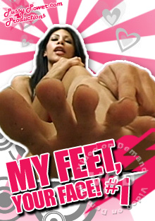 My Feet, Your Face! #1 Box Cover