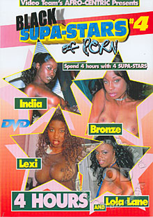 Black Supa-Stars Of Porn #4 Box Cover