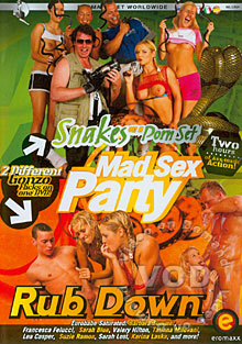 Mad Sex Party - Snakes On A Porn Set