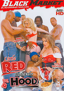 Little Red Rides The Hood Vol. 4 Box Cover