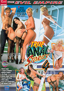 Rocco's True Anal Stories 4 Box Cover