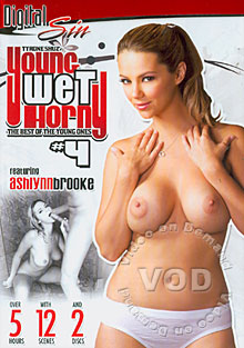 Young Wet Horny #4 (Disc 1) Box Cover