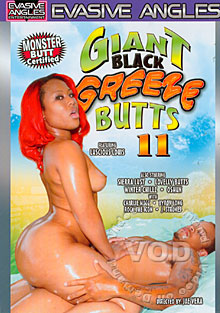Giant Black Greeze Butts 11 Box Cover