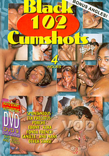 Black 102 Cumshots #4 Box Cover