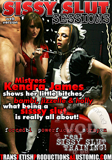 Sissy Slut Sessions Box Cover