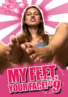 My Feet, Your Face! #9 Box Cover