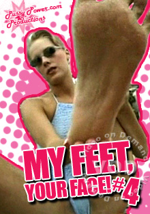 My Feet, Your Face! #4 Box Cover