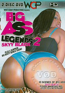 Big Ass Legends 2 - Skyy Black (Disc 1) Box Cover