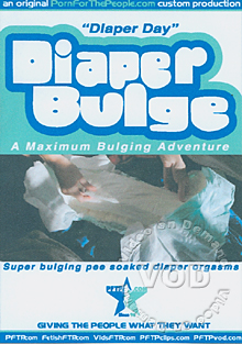 Diaper Bulge - Diaper Day Box Cover