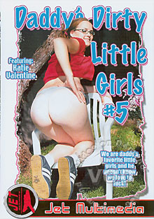 Daddy's Dirty Little Girls 5 Box Cover
