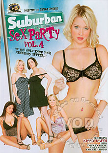 Suburban Sex Party Vol. 4 Box Cover