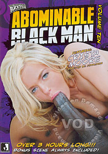 Abominable Black Man #10 Box Cover