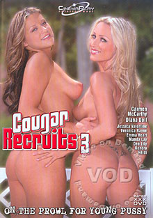 Cougar Recruits 3 Box Cover