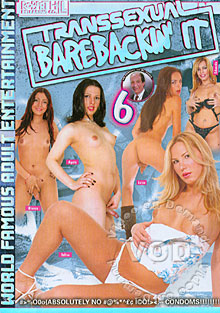 Transsexual Barebackin' It 6 Box Cover