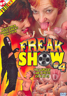 Freak Show #4 Box Cover