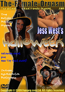 Jess West's Halloween Box Cover