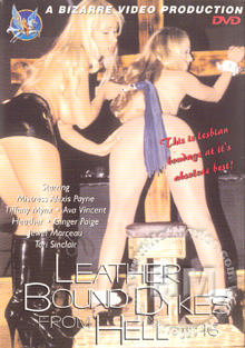Leather Bound Dykes From Hell part 16 Box Cover