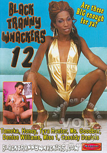 Black Tranny Whackers 12 Box Cover
