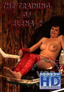 The Training Of Elena Part 2 Box Cover