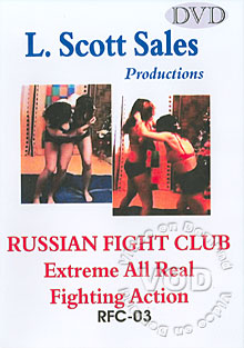 Russian Fight Club - Extreme All Real Fighting Action: RFC-03 Box Cover