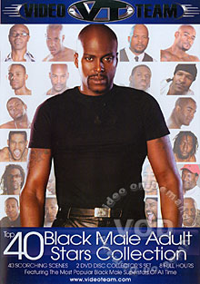 Top 40 Black Male Adult Stars Collection  (Disc 1)