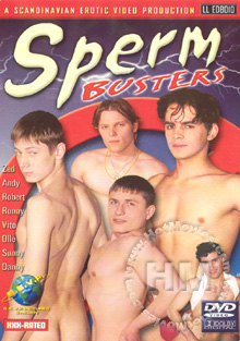 Sperm Busters Box Cover
