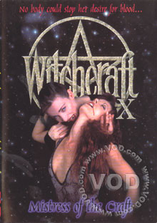 Witchcraft X - Mistress Of The Craft Box Cover