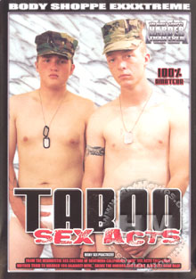Taboo Sex Acts Box Cover