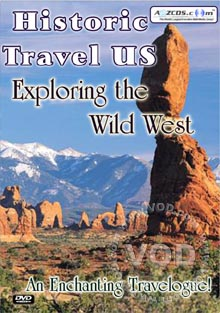Historic Travel US Exploring The Wild West Box Cover