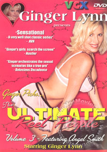 Ginger Lynn's The Ultimate Reel People Volume 3 Box Cover