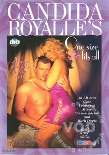 Candida Royalle's One Size Fits All Box Cover