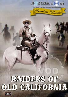 Raiders Of Old California Box Cover