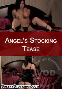 Angel's Stocking Tease Box Cover