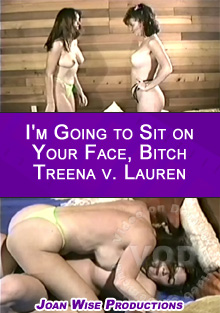 I'm Going to Sit on Your Face, Bitch - Treena v. Lauren Box Cover
