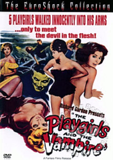 The Playgirls And The Vampire Box Cover
