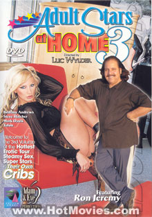 Adult Stars At Home 3 Box Cover