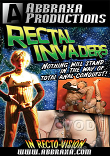 Rectal Invaders Box Cover