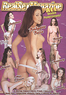 Real Sex Magazine - All Double Penetrations! Box Cover