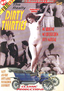 The Really Dirty Thirties Box Cover