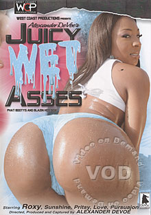 Juicy Wet Asses Box Cover
